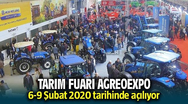 Türkiye'nin en büyüğü yine Agroexpo 6-9 Şubat tarihinde Fuar İzmir'de yapılacak