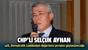 CHP İzmir eski İl Başkanı Selçuk Ayhan'dan basın açıklaması