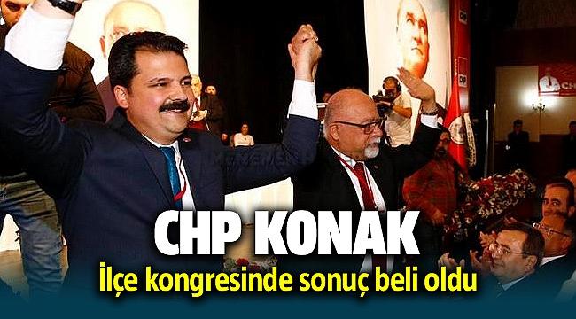 CHP Konak İlçe Kongresinde sonuç belli oldu