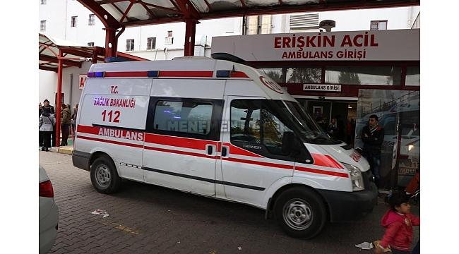 İki kişiyi öldüren ve polis memurunu yaralayan zanlı hastaneye sevk edildi