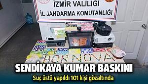 İzmir'de Elektrik İşçileri Sendikasına suç üstü kumar baskını