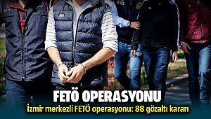 İzmir'de FETÖ'nünTSKyapılanması operasyon