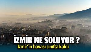 İzmir'de Hava Kirliği giderek artıyor