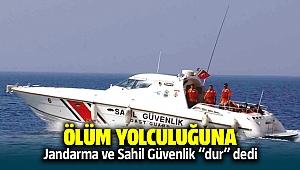İzmir'de Jandarma ve sahil güvenlik ölüm yolculuğana 'dur' dedi