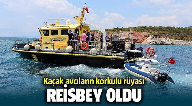 İzmir'de kaçak avcıların korkulu rüyası: 'Reisbey'