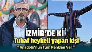 İzmir'deki Atatürk heykelini yapan kişi 'Anadolu'nun tüm renkleri var' diyerek kendini savundu