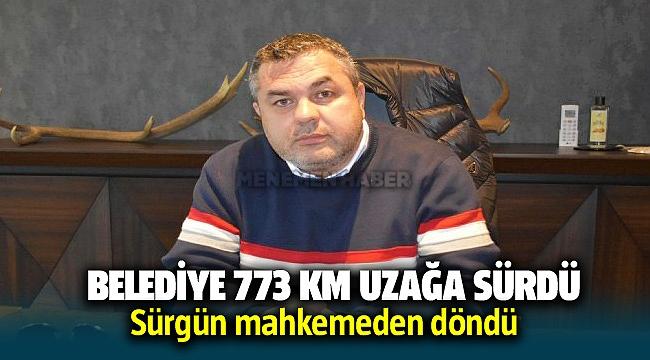 İzmir'deki o belediyede '11 memura 773 km uzağa sürgün'e yargı freni!