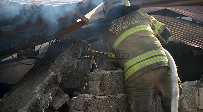 İzmir'deki fabrika yangınında zarar 5 milyon TL