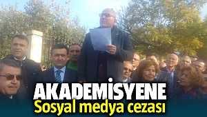 İzmirli akademisyen Oktay Gökdemir'e Dokuz Eylül Üniversitesi'nden sosyal medya cezası