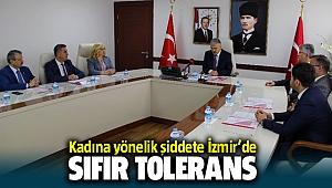 Kadına Yönelik Şiddete İzmir'de tolerans yok