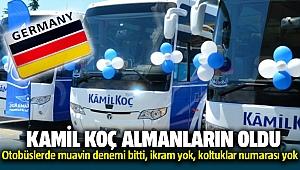 Kamil Koç Alman şirkete satıldı: Otobüslerde muavin denemi bitti, ikram yok, koltuklar numarası yok
