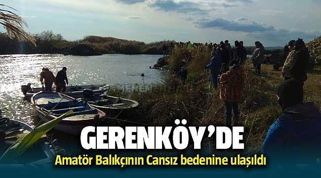Foça Gerenköy'de Kayıp amatör balıkçı Muharrem Sürücü'nün cansız bedenine ulaşıldı