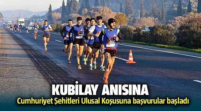 Kubilay Anısına Menemen'de 13. kez koşacaklar
