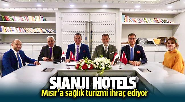 SIANJI HOTELS, MISIR'A SAĞLIK TURİZMİ İHRAÇ EDİYOR