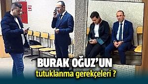 Urla Belediye Başkanı Burak Oğuz Neden Tutuklandı ?