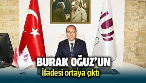 Urla Belediye Başkanı Burak Oğuz'un İfadesi ortaya çıktı
