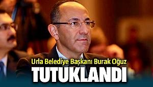 Urla Belediye Başkanı CHP'li Burak Oğuz FETÖ'den Tutuklandı