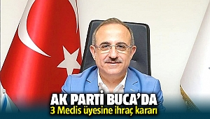 AK Parti Buca'da 3 meclis üyesine ihraç kararı!