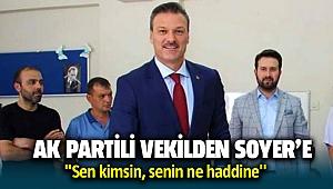 AK Parti İzmir Milletvekili Alpay Özlan'dan Tunç Soyer'e sert sözler