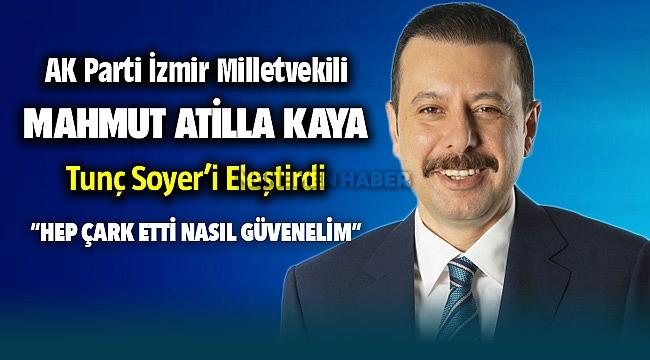 AK Partili Kaya'dan Soyer'e 'ÇÖP' çıkışı: HEP ÇARK ETTİ, NASIL GÜVENELİM?