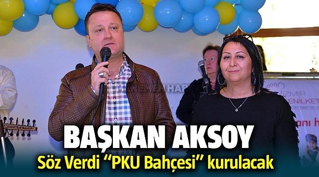 Başkan Aksoy söz verdi! Menemen'de PKU Bahçesi kurulacak