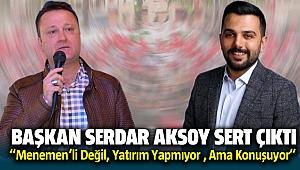 Başkan Serdar Aksoy AK Parti'li Yusuf Demircioğlu'na Sert Çıktı