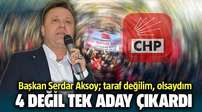 Başkan Serdar Aksoy