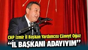 CHP İzmir İl Başkan Yardımcısı Cüneyt Oğuz;