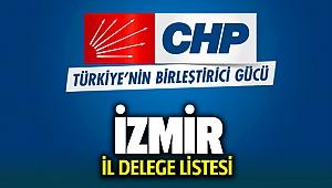 CHP İzmir İl Delege Listesi