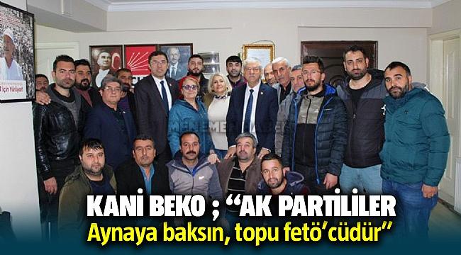 CHP İzmir Milletvekili Kani Beko