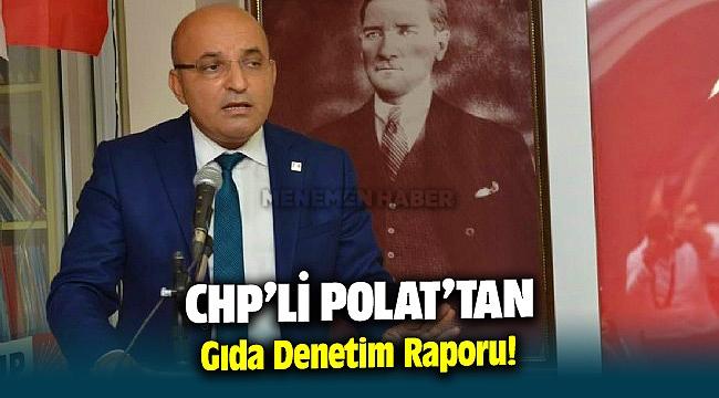 CHP'li Polat'tan gıda denetim raporu