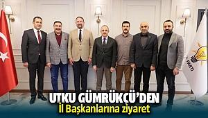 Çiğli Belediye Başkanı Utku Gümrüçü'den il başkanlarına ziyaret