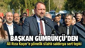 Çiğli Belediye Başkanı Utku Gümrükçü'den Ali Rıza Koçer'e yönelik saldırıya sert tepki