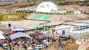 Çiğli Harmandalı Biyogaz Tesisi İzmirlilerin ziyaretine açıldı
