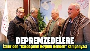 Elazığ'da ki depremzedelerin koyunları İzmir'den gidecek