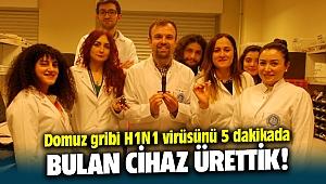İzmir Biyotıp ve Genom Merkezi, Domuz gribi virüsünü 5 dakikada tespit eden cihaz üretti