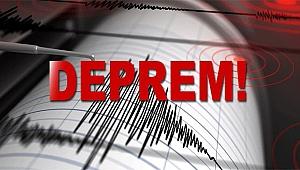 İzmir'de Sondakika Deprem