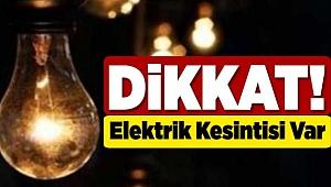 Menemen'de 26/27 -01-2020 Pazar ve Pazartesi günü Elektrik Kesintisi