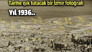 Tarihe ışık tutacak bir 1936 yılına ait İzmir fotoğrafı