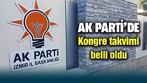 AK Parti İzmir'de Kongre tarihleri belli oldu