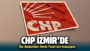 CHP İzmir'de İlçe Başkanları Deniz Yücel'e destek için buluşuyor