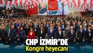 CHP İzmir'de kongre heyecanı! İl yönetimine kimler aday oldu?