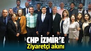 CHP İzmir'e tebrik ziyaretleri