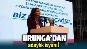 CHP İzmir İl Başkan Adayı Ezgi Deniz Urunga isyan etti