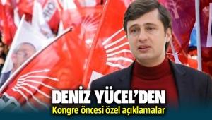 CHP İzmir İl Başkanı Deniz Yücel'den kongre öncesi açıklamalar