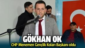 CHP Menemen Gençlik Kolları Başkanı Gökhan OK oldu