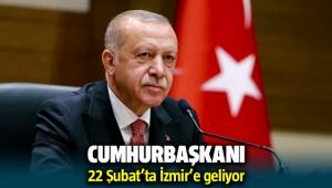 Cumhurbaşkanı Recep Tayyip Erdoğan İzmir'e geliyor