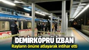 Demirköprü İzban'da intihar!