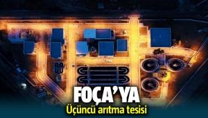 Foça'ya üçüncü arıtma tesisi