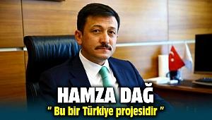 Hamza Dağ ; Bu bir Türkiye projesidir